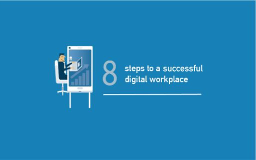 The digital workplace in practice:  8 steps to success.  Thumbnail